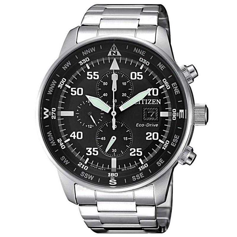 81abbf619 Citizen Men's Watch Aviator Chrono Eco-Drive CA0690-88E - New ...