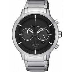 Citizen Men's Watch Super Titanium Chrono Eco-Drive CA4400-88E