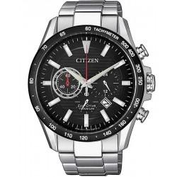 Citizen Men's Watch Super Titanium Chrono Eco-Drive CA4444-82E