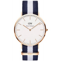 Buy Daniel Wellington Unisex Watch Classic Glasgow 36MM DW00100031