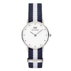 Buy Daniel Wellington Ladies Watch Classy Glasgow 26MM DW00100074