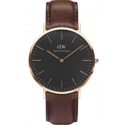 Buy Daniel Wellington Men's Watch Classic Black Bristol 40MM DW00100125