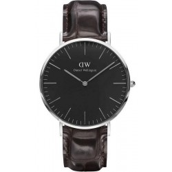 Buy Daniel Wellington Men's Watch Classic Black York 40MM DW00100134