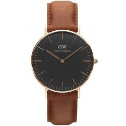 Buy Daniel Wellington Unisex Watch Classic Black Durham 36MM DW00100138