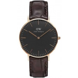 Buy Daniel Wellington Unisex Watch Classic Black York 36MM DW00100140