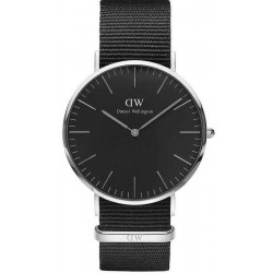 Buy Daniel Wellington Men's Watch Classic Black Cornwall 40MM DW00100149