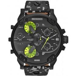 Diesel Men's Watch Mr. Daddy 2.0 Chronograph 4 Time Zones DZ7311