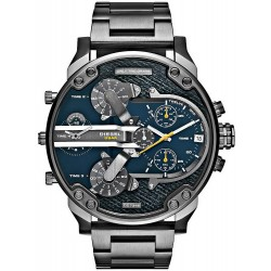 Diesel Men's Watch Mr. Daddy 2.0 DZ7331 Chronograph 4 Time Zones