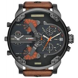 Diesel Men's Watch Mr. Daddy 2.0 Chronograph 4 Time Zones DZ7332