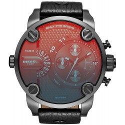 Buy Diesel Men's Watch Little Daddy Dual Time Chronograph DZ7334