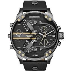 Diesel Men's Watch Mr. Daddy 2.0 DZ7348 Chronograph 4 Time Zones