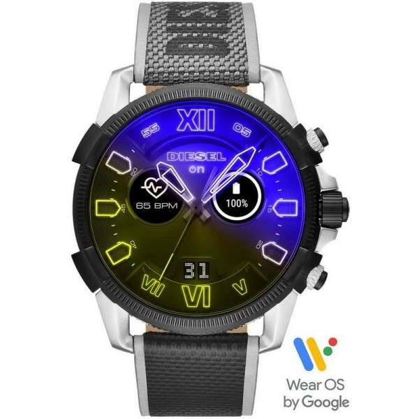 Buy Diesel On Men's Watch Full Guard 2.5 Smartwatch DZT2012