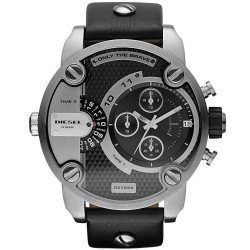 Buy Diesel Men's Watch Little Daddy DZ7256 Dual Time Chronograph