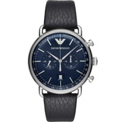 Emporio Armani Men's Watch Aviator AR11105 Chronograph