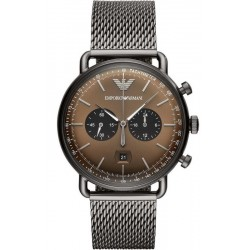 Emporio Armani Men's Watch Aviator AR11141 Chronograph