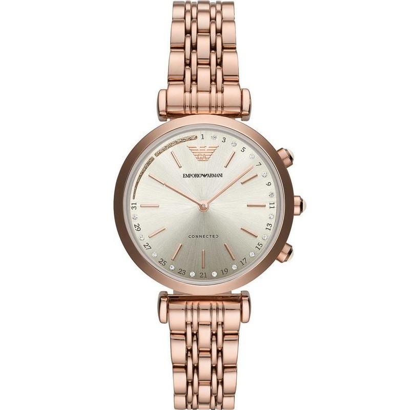 d727616c2 -8% Buy Emporio Armani Connected Ladies Watch Gianni T-Bar ART3026 Hybrid  Smartwatch