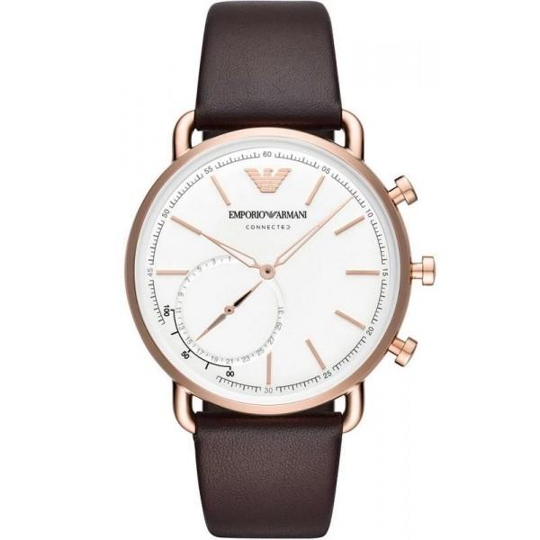 Buy Emporio Armani Connected Men's Watch Aviator ART3029 Hybrid Smartwatch