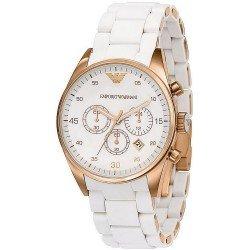 Emporio Armani Ladies Watch Tazio AR5920 Chronograph