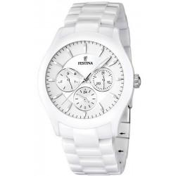 Buy Festina Men's Watch Ceramic F16639/1 Quartz Multifunction