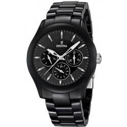 Buy Festina Men's Watch Ceramic F16639/2 Quartz Multifunction