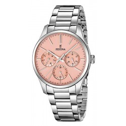 Buy Festina Ladies Watch Boyfriend F16813/2 Quartz Multifunction