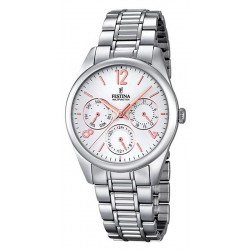 Festina Ladies Watch Boyfriend Quartz Multifunction F16869/1