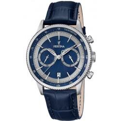 Festina Men's Watch Retro F16893/6 Quartz Chronograph