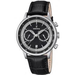 Festina Men's Watch Retro F16893/8 Quartz Chronograph