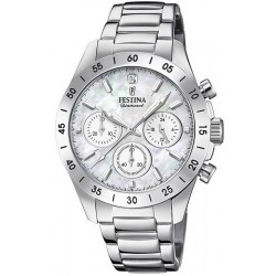 Buy Festina Ladies Watch Boyfriend Quartz Chronograph F20397/1