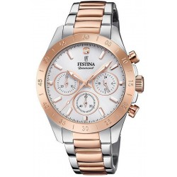 Festina Ladies Watch Boyfriend F20398/1 Quartz Chronograph