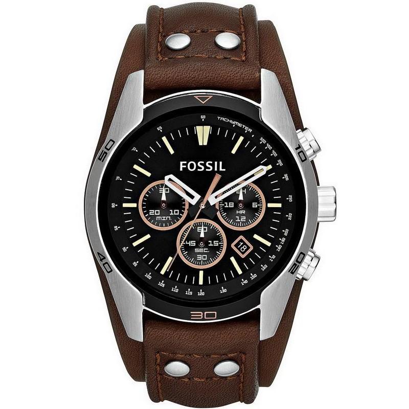 f1f5a1c84 Fossil Men's Watch Coachman CH2891 Quartz Chronograph - New Fashion ...