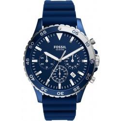 Buy Fossil Men's Watch Crewmaster CH3054 Quartz Chronograph