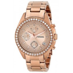Buy Fossil Ladies Watch Decker ES3352 Quartz Chronograph