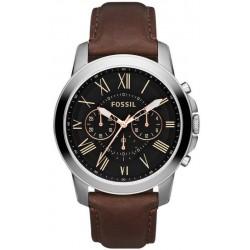 Buy Fossil Men's Watch Grant FS4813 Quartz Chronograph
