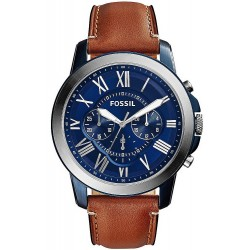 Buy Fossil Men's Watch Grant FS5151 Quartz Chronograph