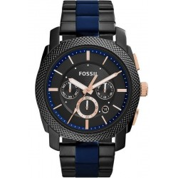Fossil Men's Watch Machine FS5164 Chronograph Quartz