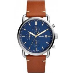 Buy Fossil Men's Watch Commuter FS5401 Quartz Chronograph