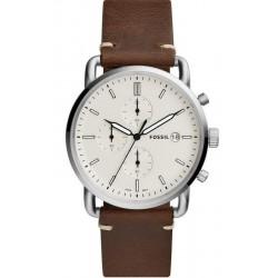 Buy Fossil Men's Watch Commuter FS5402 Quartz Chronograph