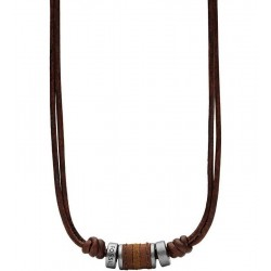Buy Fossil Men's Necklace Vintage Casual JF00899797