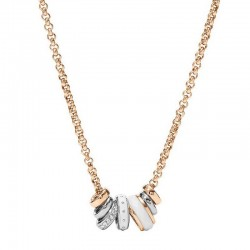Buy Fossil Ladies Necklace Classics JF01122998