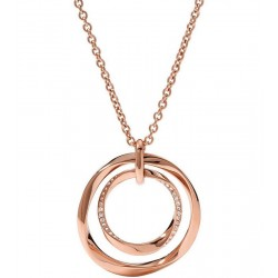 Buy Fossil Ladies Necklace Classics JF01302791
