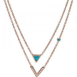 Buy Fossil Ladies Necklace Fashion JF02644791
