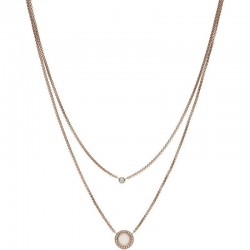 Buy Fossil Ladies Necklace Classics JF03057791