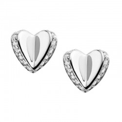 Buy Fossil Ladies Earrings Sterling Silver JFS00423040