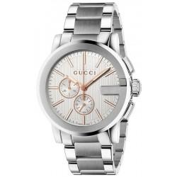 Buy Gucci Men's Watch G-Chrono XL YA101201 Quartz Chronograph