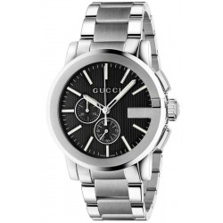 Buy Gucci Men's Watch G-Chrono XL YA101204 Quartz Chronograph