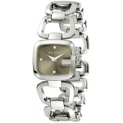 Buy Gucci Ladies Watch G-Gucci Small YA125503 Quartz