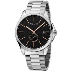 Buy Gucci Men's Watch G-Timeless Large Slim YA126312 Automatic