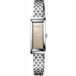Buy Gucci Ladies Watch G-Frame Rectangular Small YA127501 Quartz