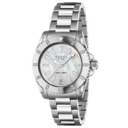 Gucci Ladies Watch Dive Medium YA136405 Quartz